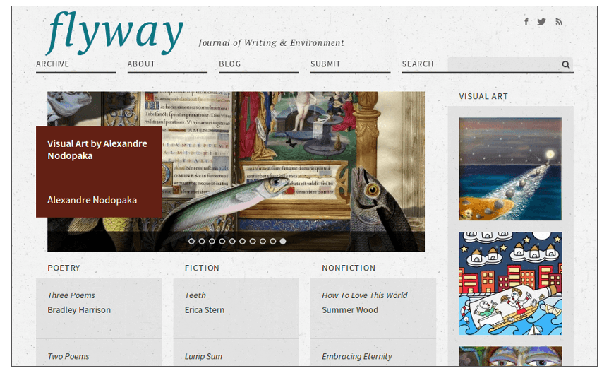 Flyway: Journal of Writing and Environment website