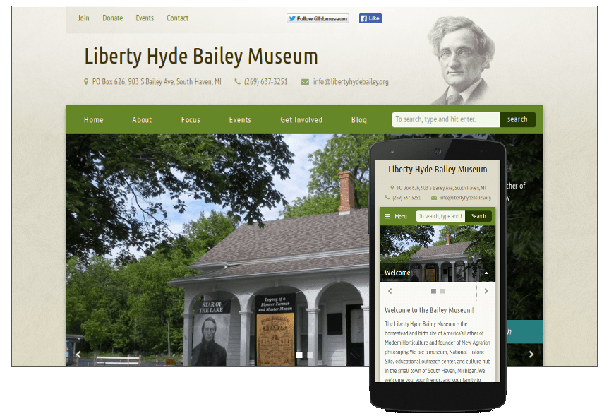Liberty Hyde Bailey Museum website